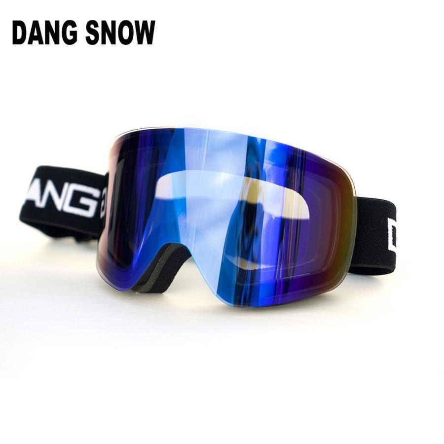 DANG SNOW TWENTY20 黒×Ultra 青 Mirror DANG SHADES ゴーグル ダンシェイディーズ ゴーグル