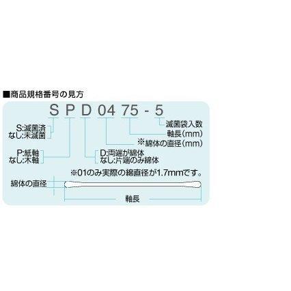 オオサキメディカル オオサキ綿棒 1518 10本入x20袋|snowbook|03