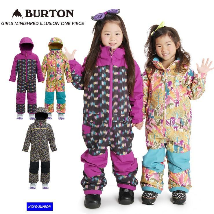 BURTON バートン GIRLS MINISH赤 ILLUSION ONE PIECE イリュージョンワンピース ガールズ 18-19 2019