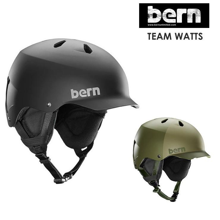 bern バーン TEAM WATTS チームワッツ 2020 スノーボード ヘルメット