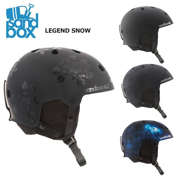 18-19 2019 SANDBOX サンドボックス LEGEND SNOW ASIA FIT レジェンド ヘルメット スキー・スノーボード