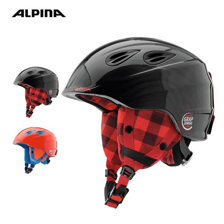 【キッズパスポートプレゼント対象!】18-19 ALPINA アルピナ GRAP 2.0 JUNIOR キッズ ヘルメット スノーボード