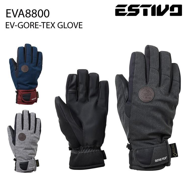 18-19 2019 ESTIVO エスティボ EVA8800 EV-GORE-TEX GLOVE グローブ スノーボード