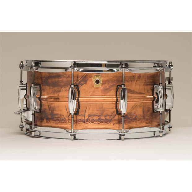 """Ludwig ラディック 5""""x14"""" スネアドラム Copper Phonic コパーフォニック LC661 スネア"""