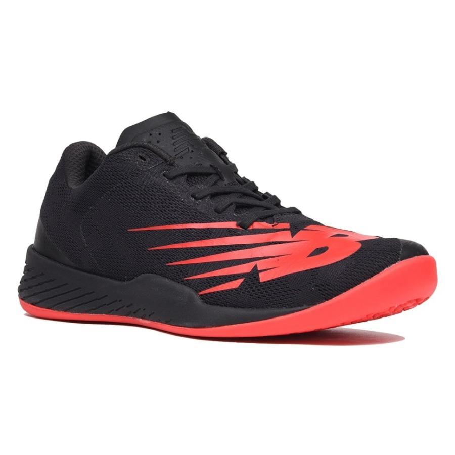 ニューバランス new balance テニスシューズ オムニ クレー用 MCO896R3 黒 赤 ブラック レッド