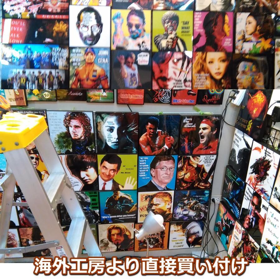 中村俊輔 サッカー日本代表 52x52cm特大サイズ! サッカーグラフィックアートパネル 木製 壁掛け ポスター soccerart2 07