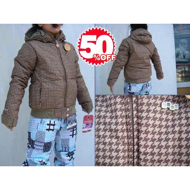 09FOURSQUARE OUTERWEAR CANDICE JACKET(婦人向け DOWN SERIES) TanBig 【S/M】【smtb-f】