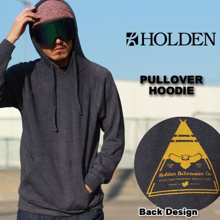 HOLDEN ホールデン PULLOVER HOODIE プルオーバー フードパーカー