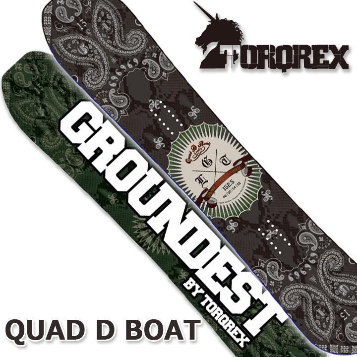【予約】 TORQREX トルクレックス GROUNDEST LIMITED QUAD D BOAT クアッドディーボート 17-18 送料無料 割引中, 小池時計店 0054b72a