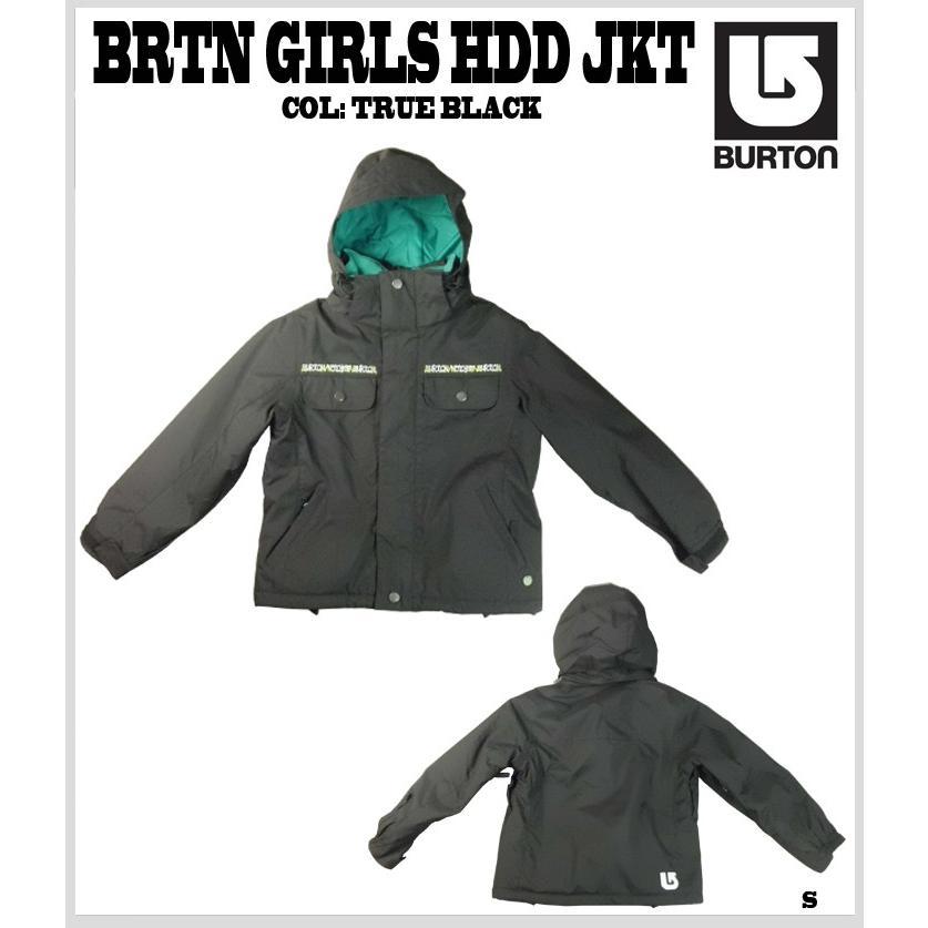 BURTON バートン BRTN GIRLS HDD JKT ガールズフードジャケット KIDS キッズ 子供用 60%OFF