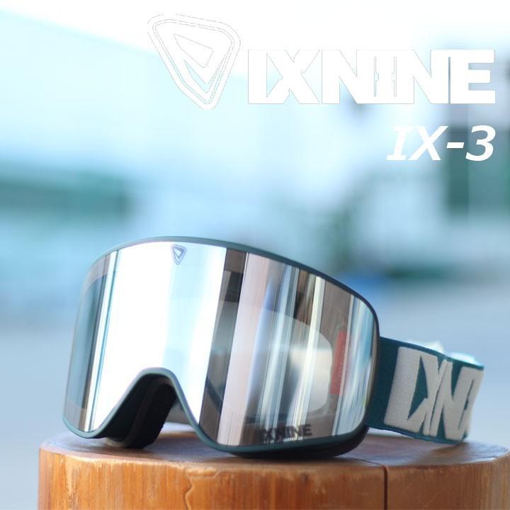 IX9 IX NINE ゴーグル IX-3 30%OFF Titan Clear サンプル展示品