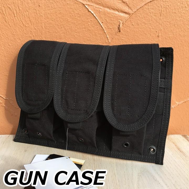 SOFT GUN CASE ソフト ガンケース ハンドガン 黒 中古