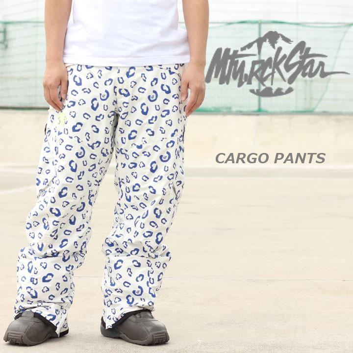 MTN.ROCKSTAR マウンテンロックスター CARGO PANTS カーゴパンツ 白い PANTHER 40%OFF