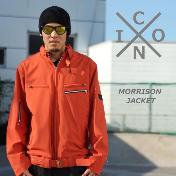 ICON アイコン MORRISON JACKET モリソンジャケット RUST TWILL 40%OFF