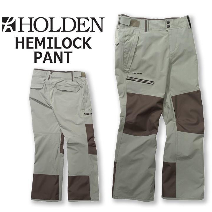 18-19 HOLDEN ホールデン HEMLOCK PANT ヘムロックパンツ MENS メンズ 送料無料 20%OFF 即出荷