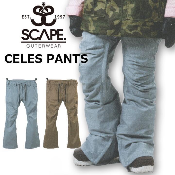 18-19 SCAPE エスケープ CELES PANTS セレスパンツ 送料無料 20%OFF 即出荷