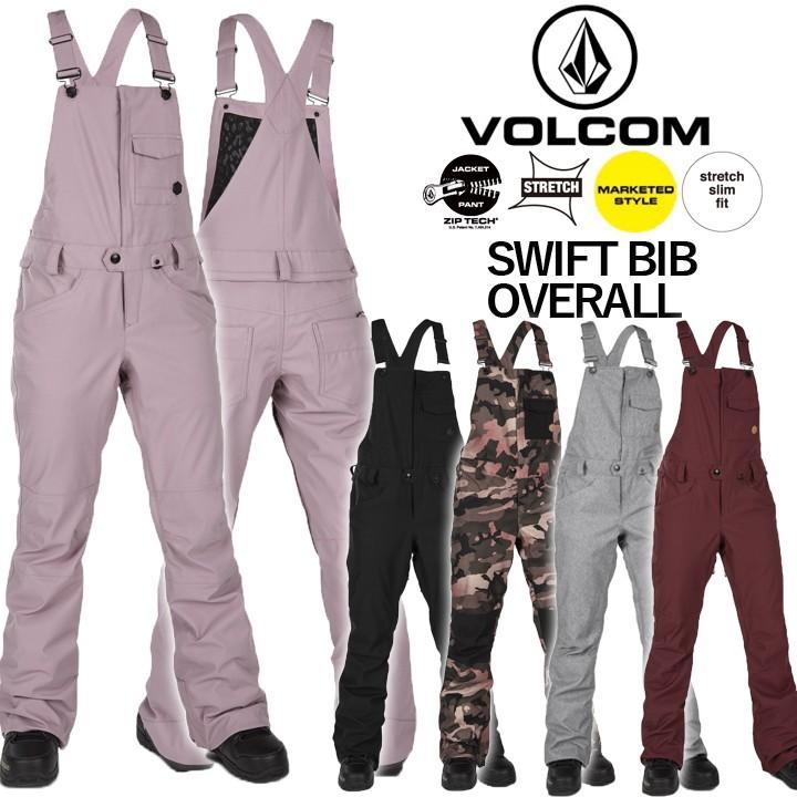 最新発見 19-20 VOLCOM ボルコム SWIFT BIB OVERALL スイフトビブオーバーオール LADYS レディース 女性用 国内正規品 送料無料 即出荷, エネアコーポレーション c2584658