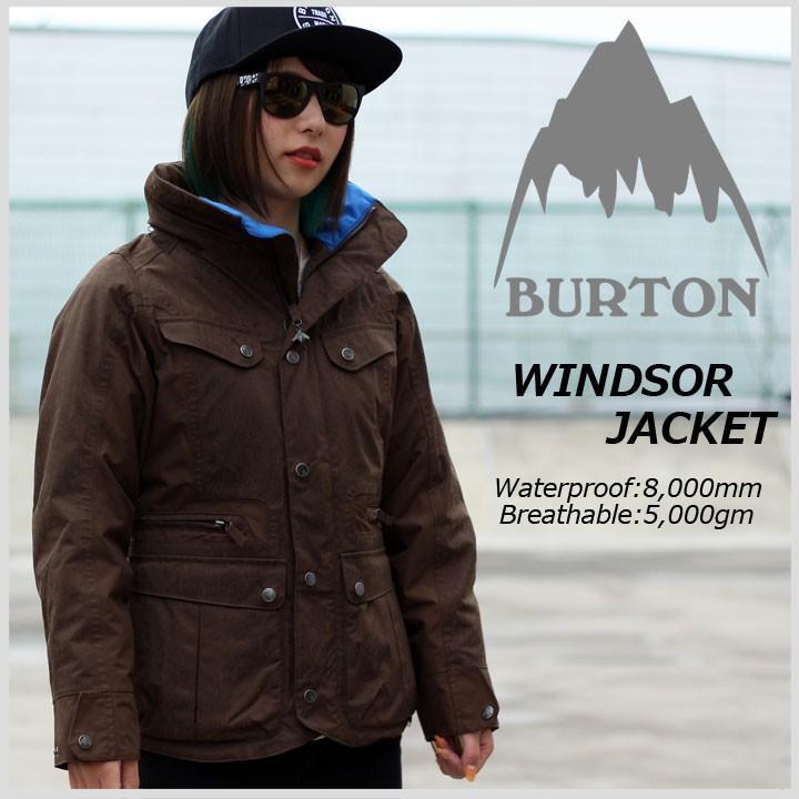 BURTON バートン WINDSOR JACKET ウィンザージャケット 褐色 70%OFF 送料無料