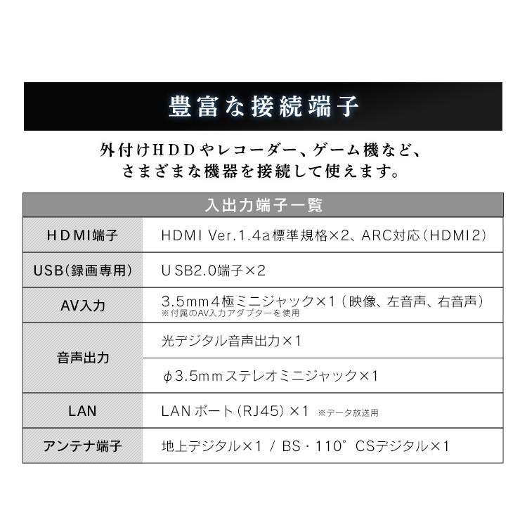 テレビ 40型 液晶テレビ 新品 フルハイビジョン液晶テレビ 40インチ ブラック 40FB10P アイリスオーヤマ|sofort|15