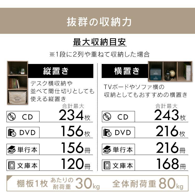 カラーボックス 3段 収納 2個セット ラック 収納ラック 本棚 棚 収納ボックス テレビ台 テレビラック CX-3 アイリスオーヤマ|sofort|15
