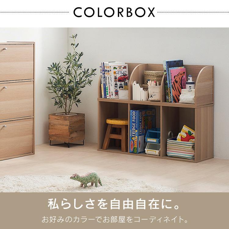 カラーボックス 3段 収納 2個セット ラック 収納ラック 本棚 棚 収納ボックス テレビ台 テレビラック CX-3 アイリスオーヤマ|sofort|04