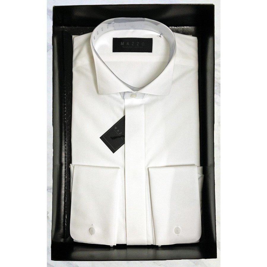e504665814cdf ウィングカラーシャツ/ダブルカフス仕様/専用BOX入り・ちょっと ...