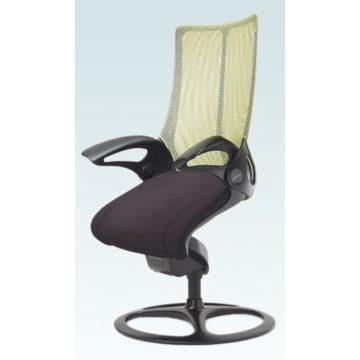 オフィスチェア オカムラ レオパード ミドルバック CE73BRブラックフレーム 座:布張り仕様(ブラック) 固定タイプ