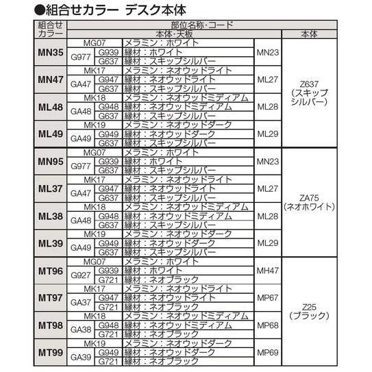 オフィスチェア オカムラ クルーズデスク Cタイプ 基本ユニット 900W  MY10XE|soho-honpo|03