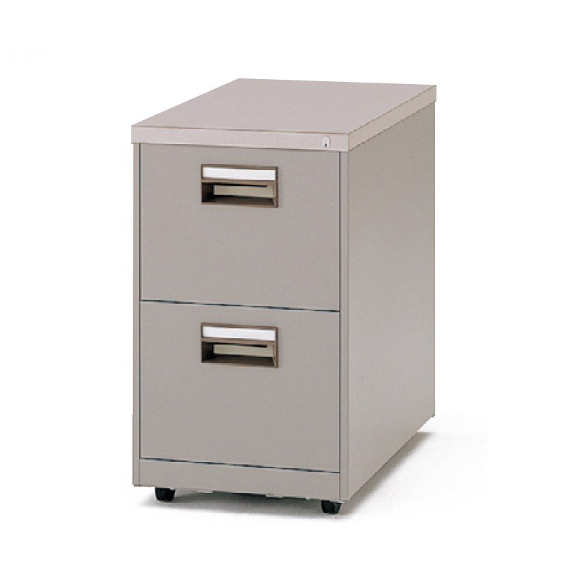 金融機関用家具 イトーキ キャビネット A4-2段(天板付) 自社便 開梱・設置付