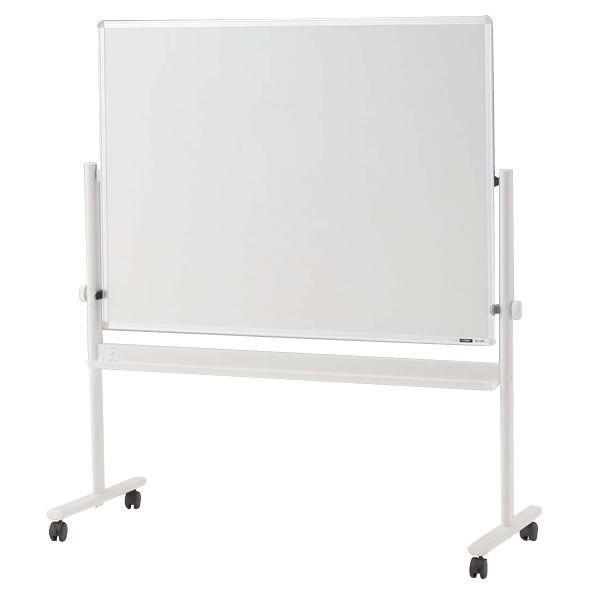 イトーキ 脚付き ホーロー ホワイトボード(片面ホワイト)ロータイプ 外寸:W134×H148cm 板面:W120×H90cm 自社便 開梱・設置付
