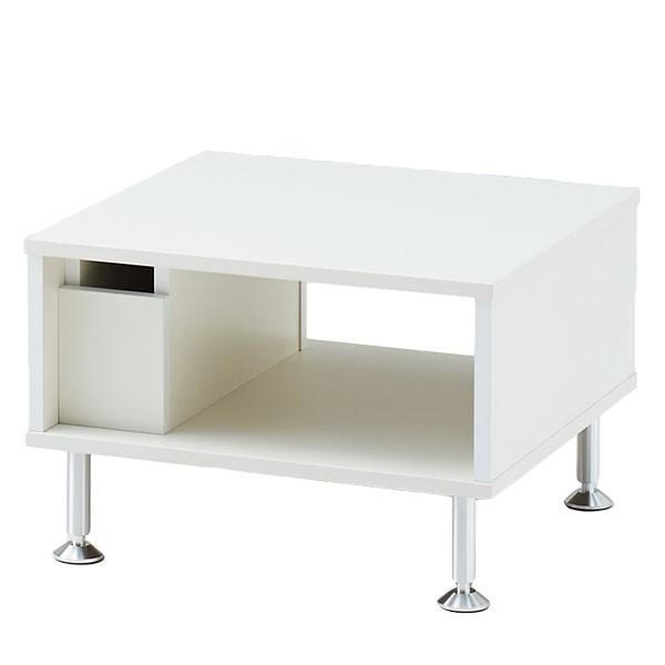 イトーキ ロビー家具 LFシリーズ センターテーブル 幅60cm ホワイト 自社便 開梱・設置付