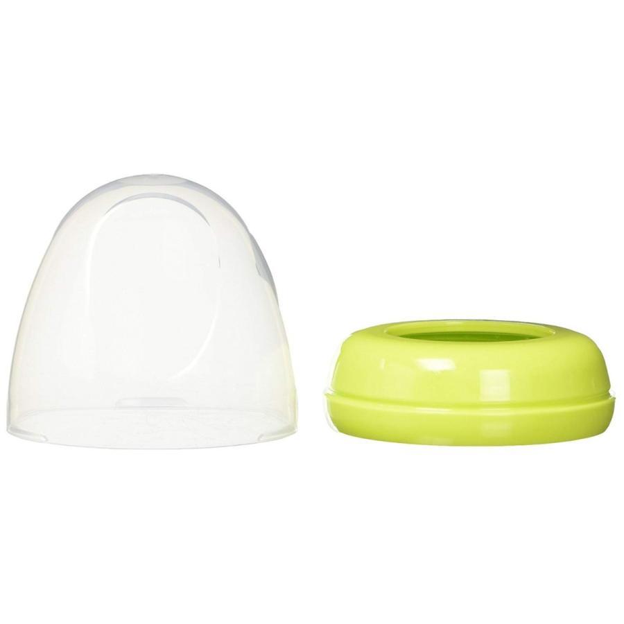ピジョン 母乳実感キャップ・フードセット ライトグリーン|sohshop|02