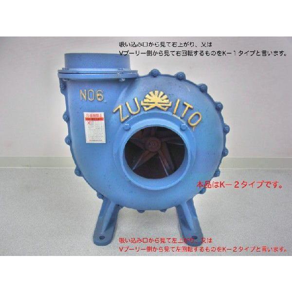 瑞東産業 鋳物排風機 NO.8 K-1 右回転