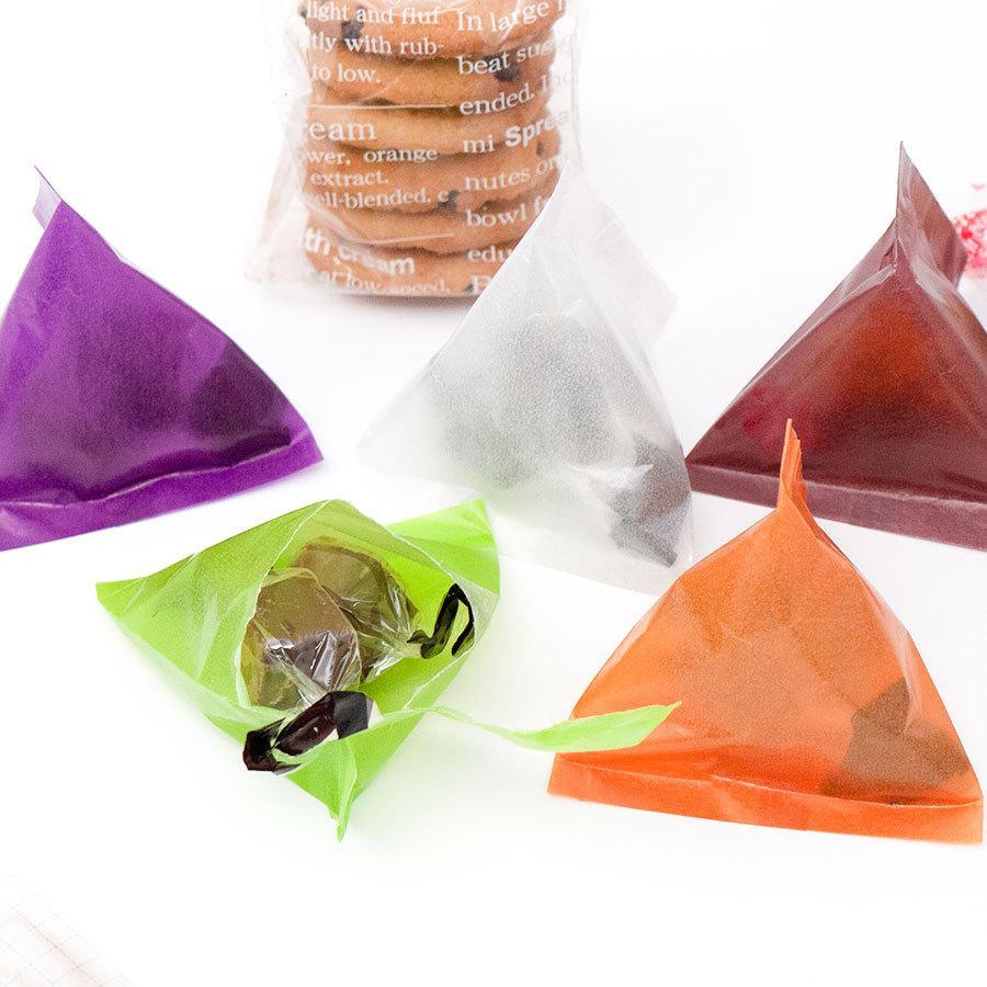 ミニ包装紙 グラシンペーパー白無地 50枚 折り紙サイズ 半透明ペーパークラフト紙|sokana|06