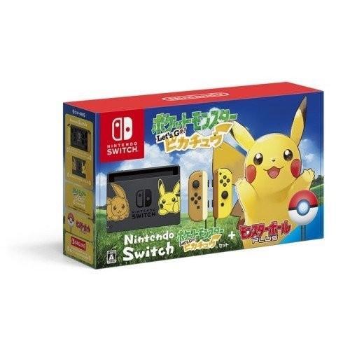 【大量購入受付中・個数制限無し】Nintendo Switch ポケットモンスター Let's Go! ピカチュウセット (モンスターボール Plus付き)本体【ラッピング可】