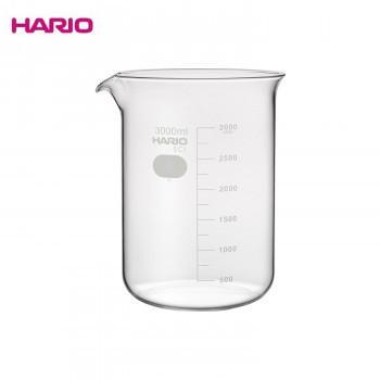 HARIO ハリオ B-3L SCI ビーカー 3000ml 4個入りメーカー直送KO  代引き·ラッピング·キャンセル不可
