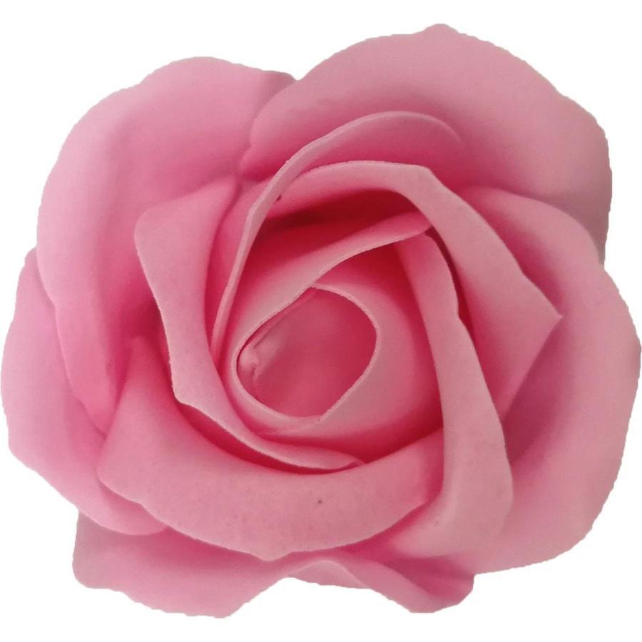 フレグランス ソープフラワー 花材 ローズ 小 1輪 返品送料無料 ソープ ピンク フラワー 無料 石鹸素材のお花