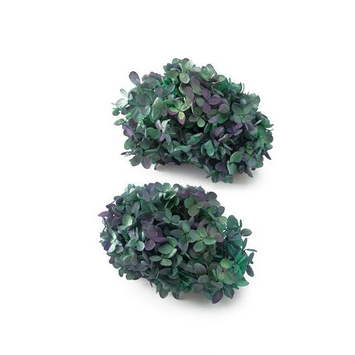 プリザーブドフラワー 花材 ソフトピラミッドアジサイ ヘッド 紫陽花 ブルーパープル 小分け お求めやすく価格改定 新色追加 大地農園
