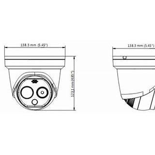 【正規輸入品】HIKVISION社DS-2TD1217B-6/PA体温測定熱画像カメラ 30〜40度 1秒体温測定 ±0.5温度差 160x120P AI顔面感知 多重顔面感知|solismkt|02