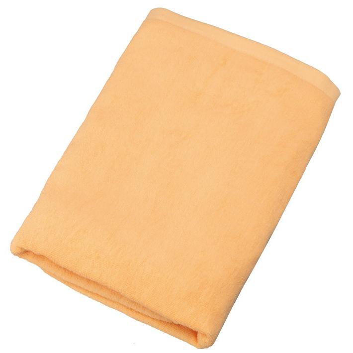 1,000匁 スレン染め バスタオル オレンジ 60枚 VN1000O