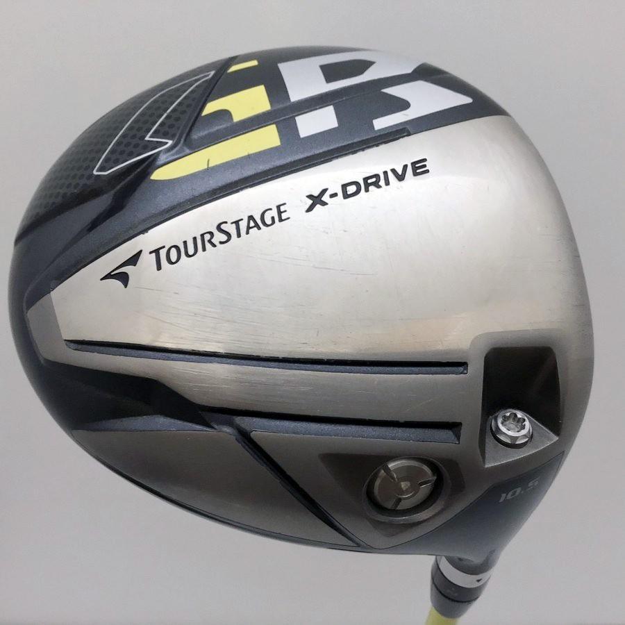 中古 ブリヂストン ツアーステージ X-DRIVE GR ドライバー 10.5度 ツアーAD MT-6 S