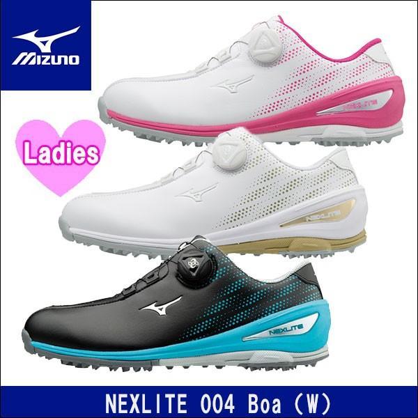 取寄せ商品 MIZUNO(ミズノ) NEXLITE 004 Boa(W)(ネクスライト004ボア) 51GW1720 レディース ゴルフシューズ