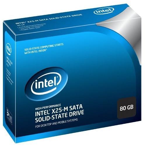 Intel SSD 80GB SATA 2.5Iinch MLC w/Cable Retail K SSDSA2MH080G2K5