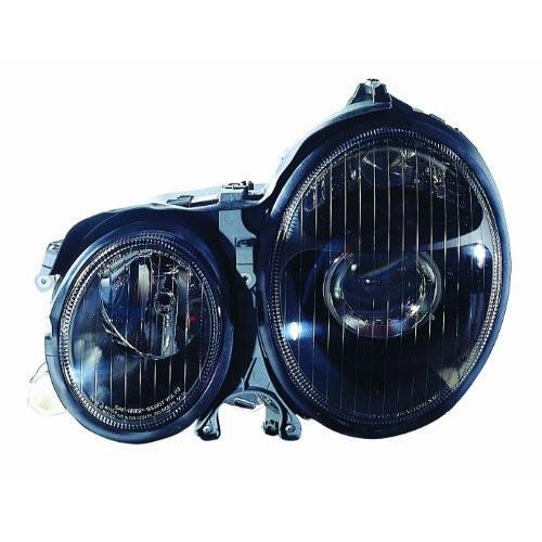 送料無料 Depo 340-1118PXAS2 Mercedes Benz E Class 黒 Headlight Assembly Proj
