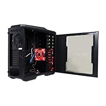 InWin GROne//Black Sleek SECC ATX Full Tower Computer Case ATX 12V//EPS Power