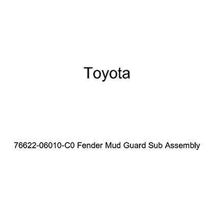 TOYOTA Genuine 76622-06010-B0 Fender Mud Guard Sub Assembly