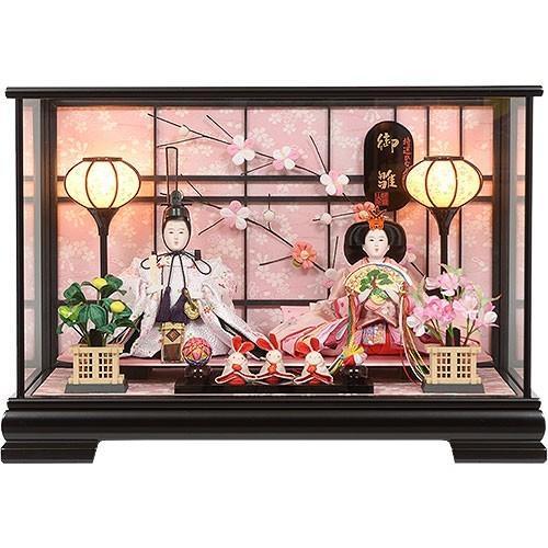 雛人形 No.306-102 ケース入り 親王飾り ひな人形