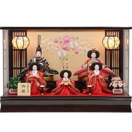 雛人形 No.306-94 アクリルケース 親王飾り ひな人形