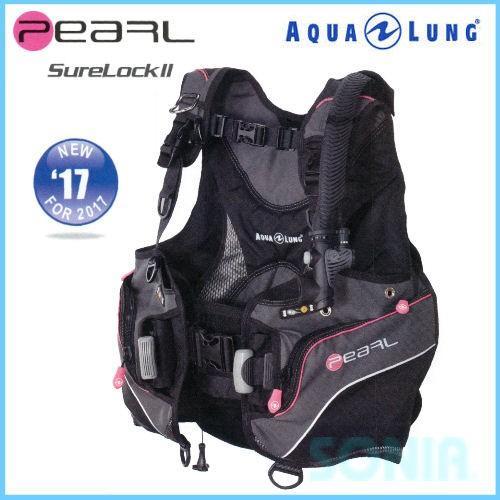 【ラッピング不可】 AQUALUNG(アクアラング) 31728 パール Pearl BC ダイビング BCD, マンノウチョウ 6c8020c8