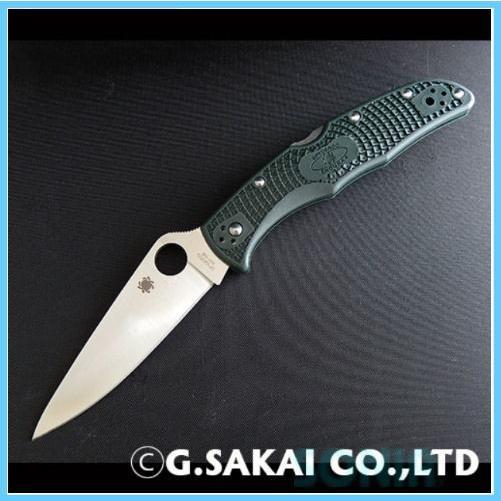 美しい Spyderco(スパイダルコ) 50157 C10PGRE エンデューラ4 ZDP-189 フォルダーナイフ(折りたたみ式), 留寿都村 aabca769